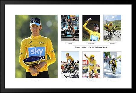 2012 Bradley Wiggins: Tour De France Winner