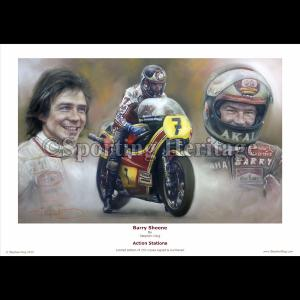Barry Sheene - Action Stations