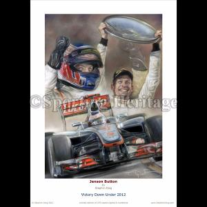 Jenson Button - Victory Down Under 2012