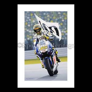 HUNDRED UP – VALENTINO ROSSI