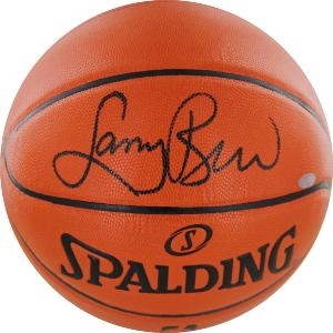 Larry Bird Signed I/O Basketball