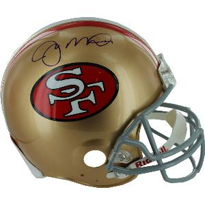 Joe Montana Signed Authentic 49ers Helmet